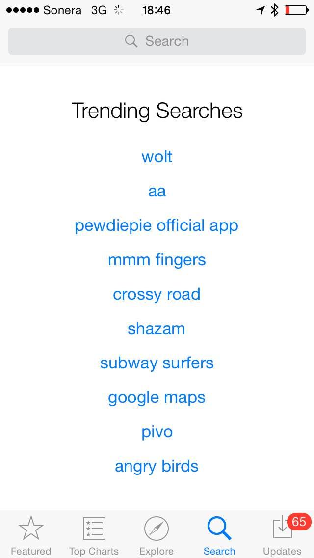Wolt ei ole vielä top-listan kärjessä, mutta jo lauantaina 14.3. se oli App Storen etsityin sovellus