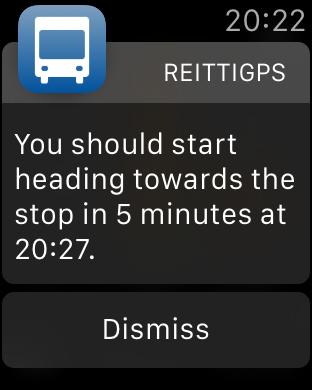 Olisi syytä lähteä bussille