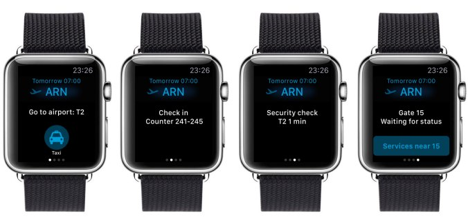 Finavian sovellus oli yksi ensimmäisiä suomalaisia Apple Watch -sovelluksia